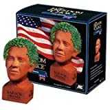 Chia Pet Barack Obama, Decorative Pottery Planter, Freedom of Choice, Easy To Do and Fun To Grow, Novelty Gift, Perfect For Any Occasion