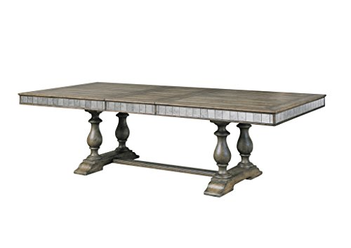 Rectangular Trestle Dining Table (Pulaski Alekto Rectangular Table)