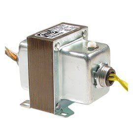 Functional Devices TR50VA004 Transformer, 50Va, 480/277/240/120 to 24 Vac, Circuit Breaker, Foot and Dual Threaded Hub - Devices Functional