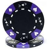 Trademark Poker Ace/King Suited Tri-Color Poker Chips 14gm