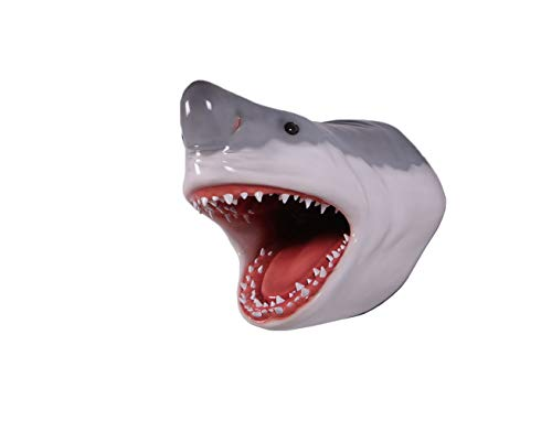 Nautical Tropical Imports Great White Shark Head Large Trophy Wall Sculpture Decor 22