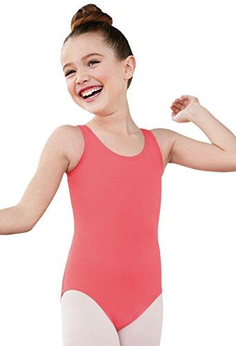Balera Leotard Girls One Piece For Dance Womens Tank Wide Strap Leotard