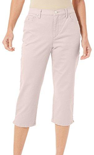 Gloria Vanderbilt Amanda 18 Twill Capri MSY Z Pink 12