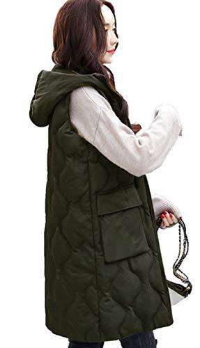 Alppv ベスト レディース ダウンベスト 秋 冬 ファッション 中綿 ベスト 無地 スリム ダウンベスト 韓国風 ジャケット スカジャン コート ベスト
