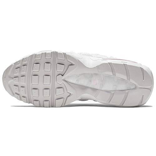 new product 0bd12 ff4cb Nike Women's Air Max 95 SE Vast Grey/Summit White/Psychic Pink AQ4138-002  (Size: 8)