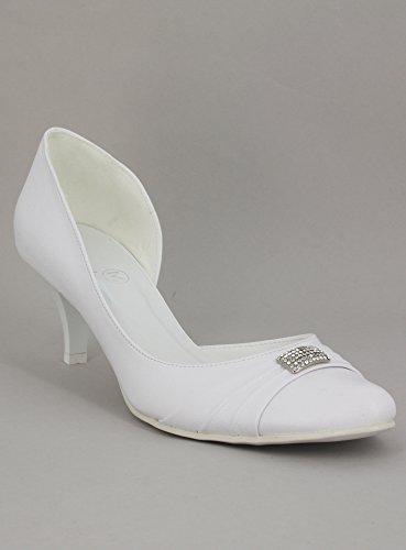 Con Avorio Calzature Ombelico Donna bianco O Matrimoni Piccolo Bianco Da cwZfqRAY