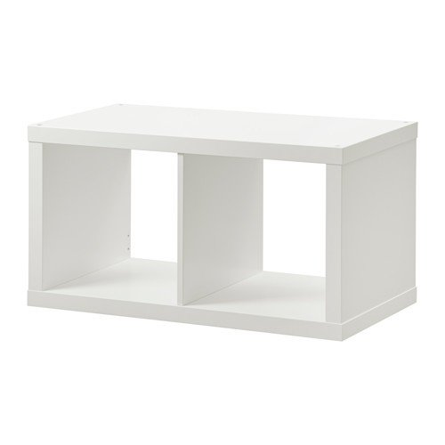 Ikea holzregal  IKEA KALLAX - Regal, weiß - 77x77 cm: Amazon.de: Küche & Haushalt