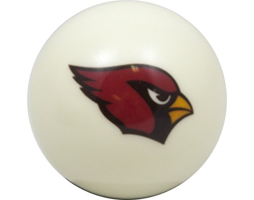 Arizona Cardinals Nfl Billiard Balls - NFL Billiard Ball * All teams and colors * Great for replacement (Arizona Cardinals White)