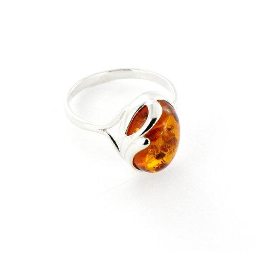 Tous mes bijoux - BABA01021 - Bague Femme - Argent 925/1000 2.4 gr - Ambre