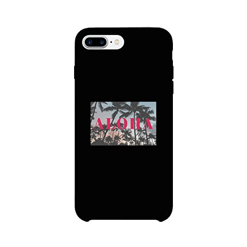 365 Printing Aloha Black iPhone 7 Case Slim Fit Cute Summer Vibes Phone Cover -