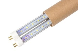 2 Pack of LightWise LWL18T523BF LED 2Ft 18W Tubes with Half/