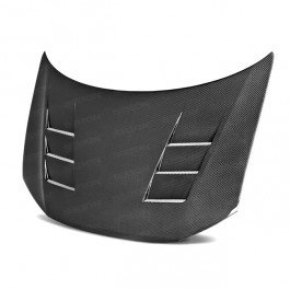 Seibon TS-Style Carbon Fiber Hood for 2012-2013 Honda Civic 2DR ()