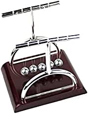 Y-Type Newton Cradle Balance Balls Desktop Pendulum Toy for Office Desk or Rooms Decoration, Available in Sizes