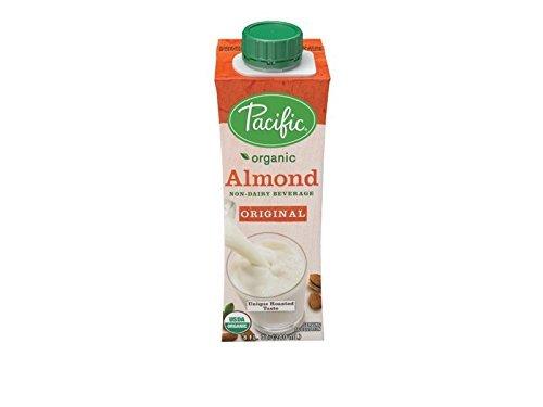 Pacific Foods, Beverage Almond Original Organic, 8 Fl Oz, 12 Pack (Pacific Foods Almond Milk)
