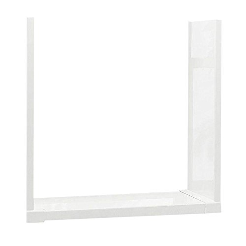 Swanstone WTK-1-010 High Gloss Window Trim Kit, White Finish
