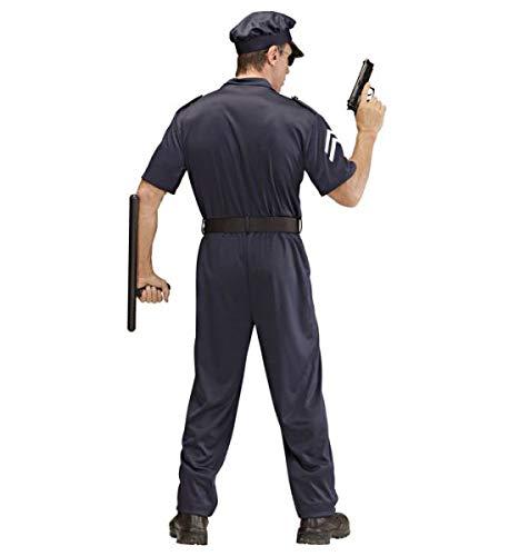 WIDMANN Widman - Disfraz de policía adultos, talla L (52-54 ...