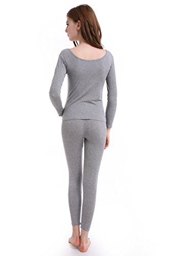 Thermal Underwear Women Long - Scoop Neck Ultra - Thin -9516
