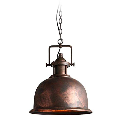 Domed Metal Pendant Light Shade in US - 4