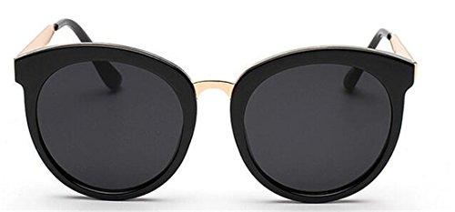 GAMT Retro Color Film Round Metal Frame Lens Sunglasses Brand Design - Film Sunglasses