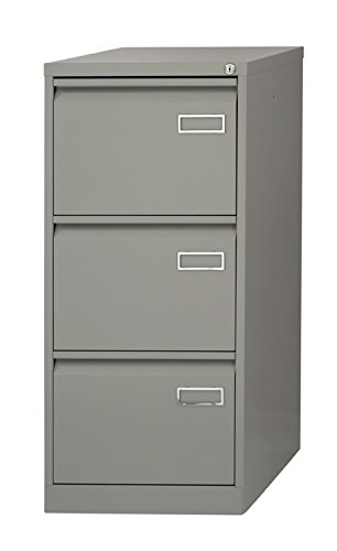 Archivador metálico de 3 cajones color Gris Ral 7035. Gran calidad: Amazon.es: Oficina y papelería