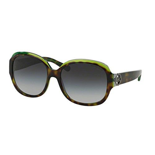 Michael Kors Kauai Sunglasses MK6004 300211 Tortoise/Green/Grey Grey Gradient 59 17 - Price Sunglasses Kors Of Michael