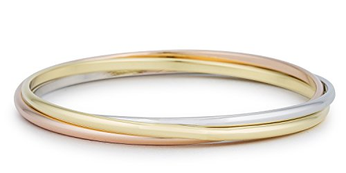 Tri-Hoop Bangle By Kate Bissett (Hamilton 18k Bracelet)