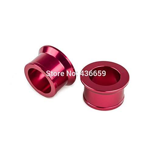 (Iris-Shop - CNC Billet Rear Axle Wheel Spacers For Honda CR125R CR250R CRF250R CRF250X CRF450R CRF450X CRF450RX CRF 250R 250X 450R 450X)