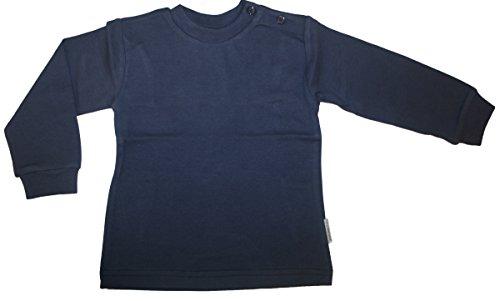 Jacky Baby - Unterzieher *Basic* T-Shirt Langarm 100 % Baumwolle Marine Gr. 86