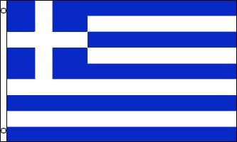 (Best Flags Greece 3x5ft Poly Flag, Multicolor)