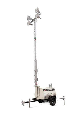 terex al4 heavy duty portable light tower 6kw generator. Black Bedroom Furniture Sets. Home Design Ideas