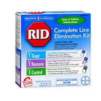 RID Complete Lice Elimination Kit 1 Each (Pack of 2) (Pubic Lice)
