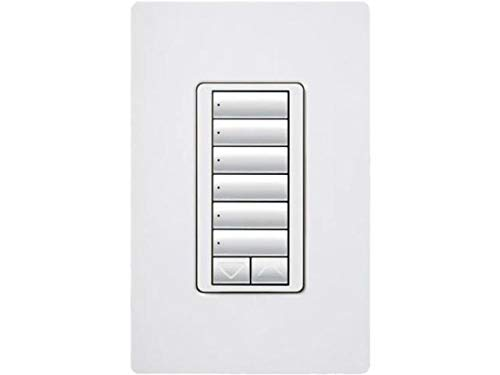 Lutron RRD-W6BRL-WH Standard Switches White by Lutron