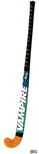 BAS Vampire Brig Fiber Glass Hockey Stick with Leather Grip Junior Size Price & Reviews