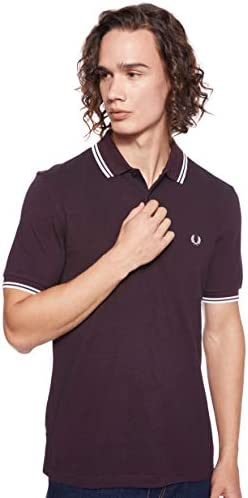 Fred Perry Twin Tipped Shirt Polo para Hombre: Amazon.es: Ropa y ...