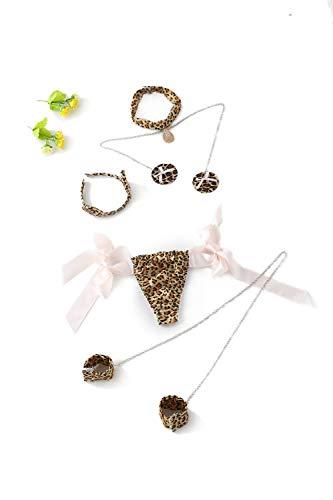 Women Sexy Cat Lingerie Leopard Cosplay Outfit Bikini Lingerie sets -