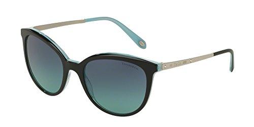 Sunglasses Tiffany TF 4117B 81939S BLACK/STRIPED BLUE