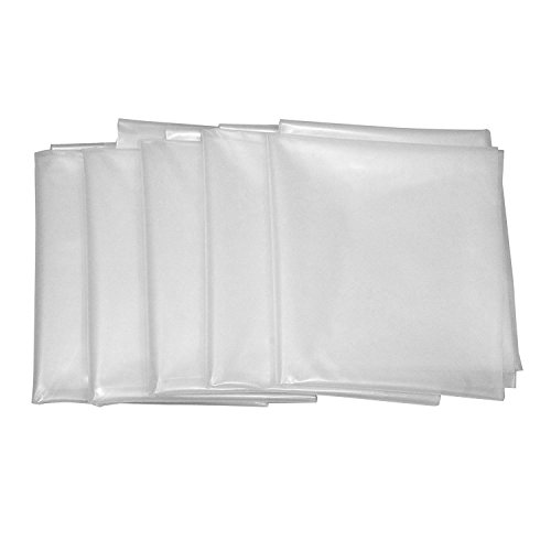 Clear Plastic Dust Collector Bag 5 Pack 20