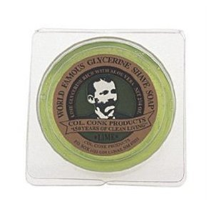 Col. Conk Lime Glycerine Shave Soap 2.25 oz. - Conk Shave Soap