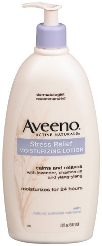Price comparison product image Aveeno Body Moisture Stress Relief Moisturizing Lotion, 18  Ounce