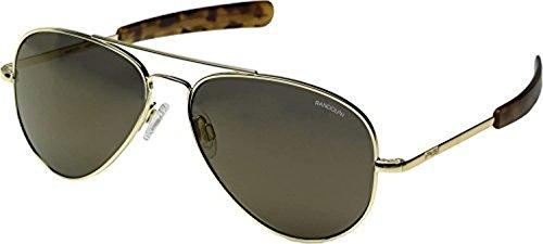 Randolph Gold 23k Sunglasses Polarized Concorde Spectrum Ar Bayonet Glass Mirror Fl rCwOqrt