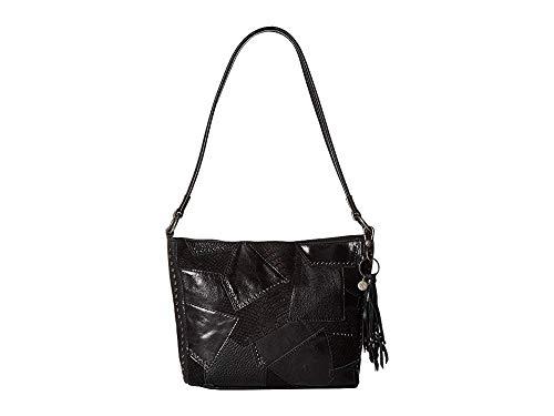 - The Sak Women's Indio Leather Demi Black Multi Patch One Size