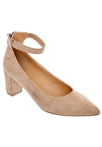 Comfortview Womens Wide Nova Pumps Beige