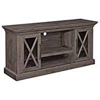 Charles TV Stand in Spanish Gray Finish - TC58-6075-PI14
