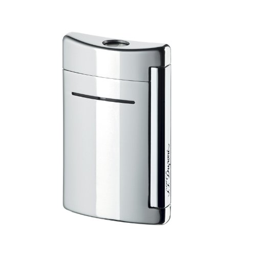 S.T. Dupont ST Dupont Minijet Chrome Grey Torch Flame Lighter by S.T. Dupont