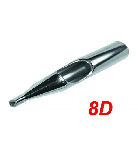 Diamond Stainless Steel Tattoo Tip Nozzle (8D) Devils Needle