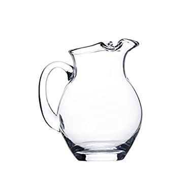 Mikasa Laura Glass Pitcher with Gift Box, 50-Ounce