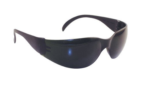 SAS Safety 5346 NSX Eyewear with Polybag, 5-Shade Lens/Black Temple