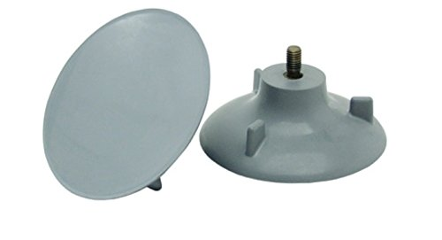 Pivit Transfer Bench Replacement Suction Cup Feet | Pack of 2 | Non-Slip Tips Provide Extra Safety & Stability On Wet Surfaces | Tool-Free Installation | Fit Most Standard & Bariatric Transfer Benches ()