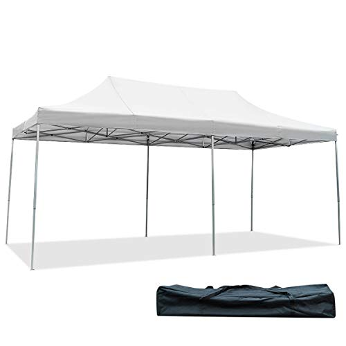 Tangkula 10' X20' Carport Tent Pop Up