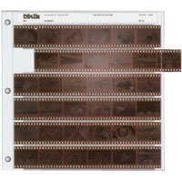 Archival 35mm Size Negative Pages Holds Six Strips of Six Frames, Pack of 25 (Photo Storage Negative)